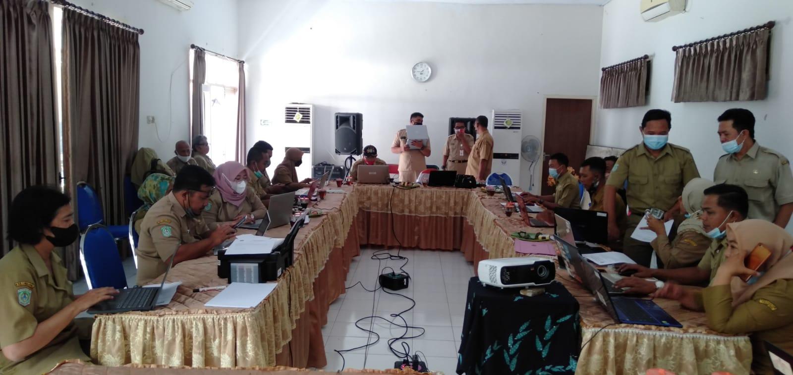 Kegiatan Fasilitasi Dalam Penyusunan Proposal Desa Cerdas