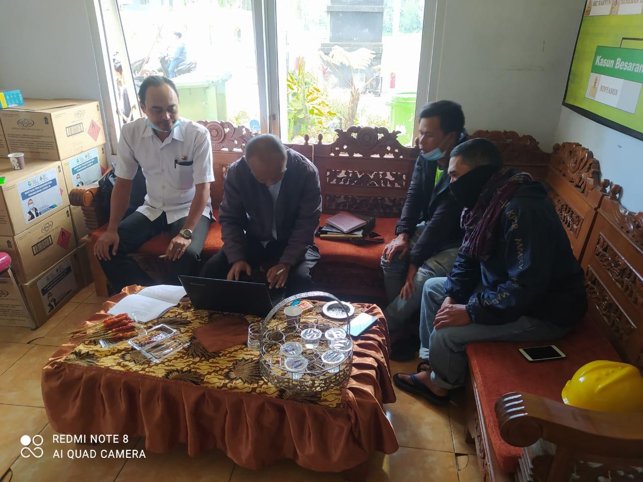 Kegiatan Monitoring Pasca Program PIID-PEL Tahun 2021 bertempat di Desa Ranupane Kecamatan Senduro