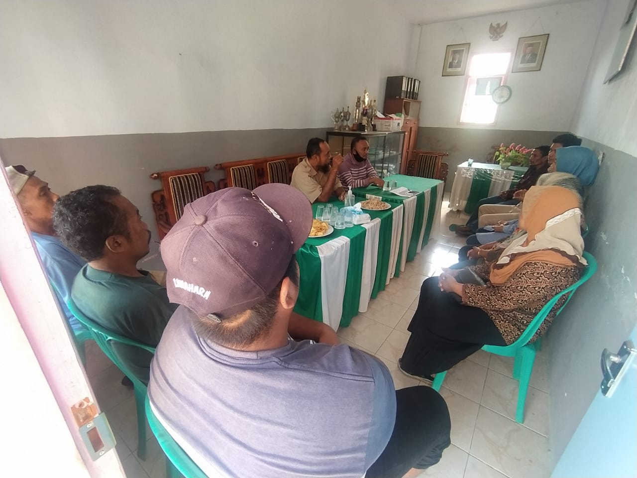 Monitoring dan Evaluasi Kegiatan KP-SPAMS di Desa Pejarakan Kecamatan Randuagung