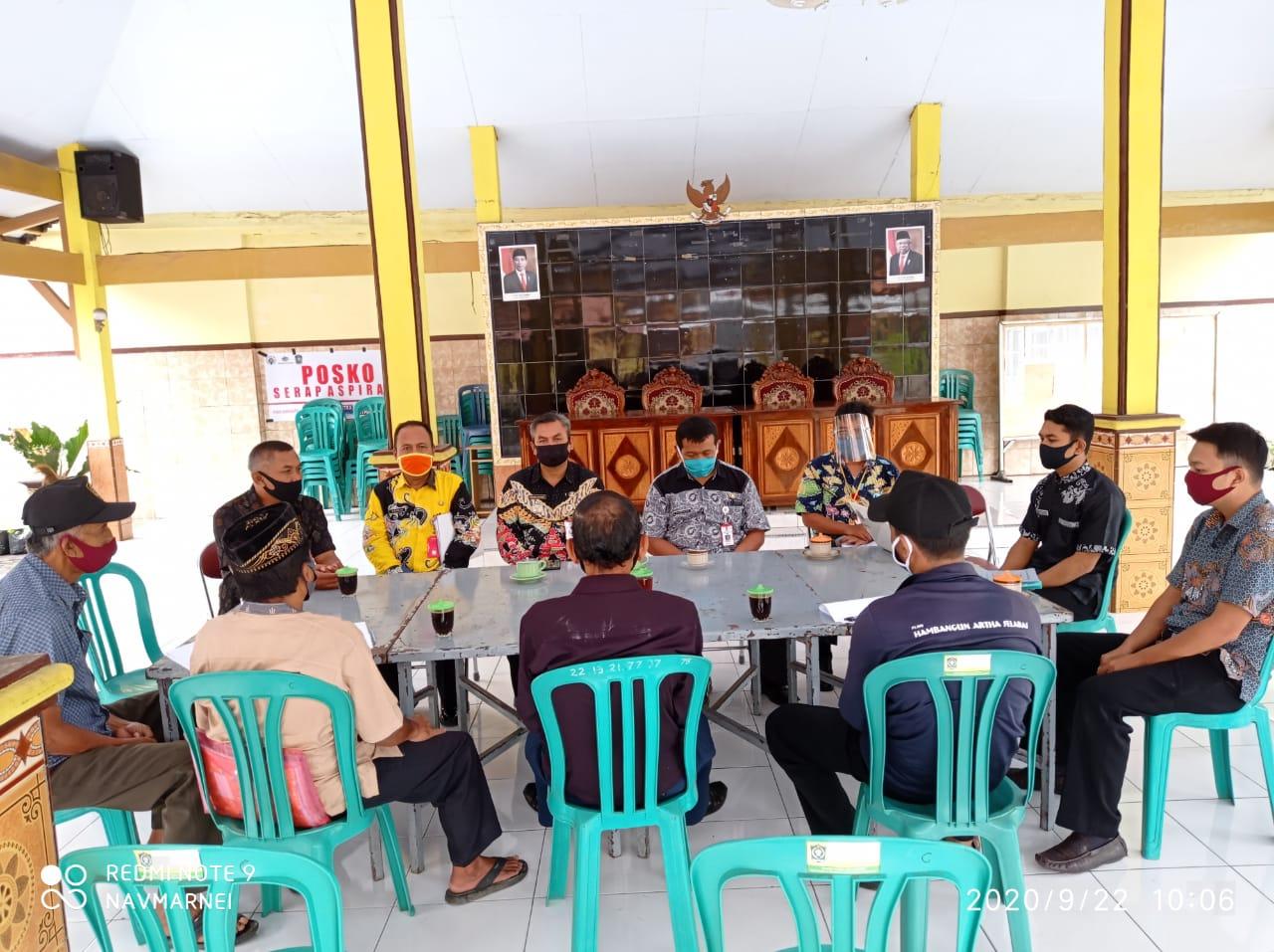 Pembinaan Kelembagaan Desa  Condro Kecamatan Pasirian Kabupaten Lumajang Tahun 2020