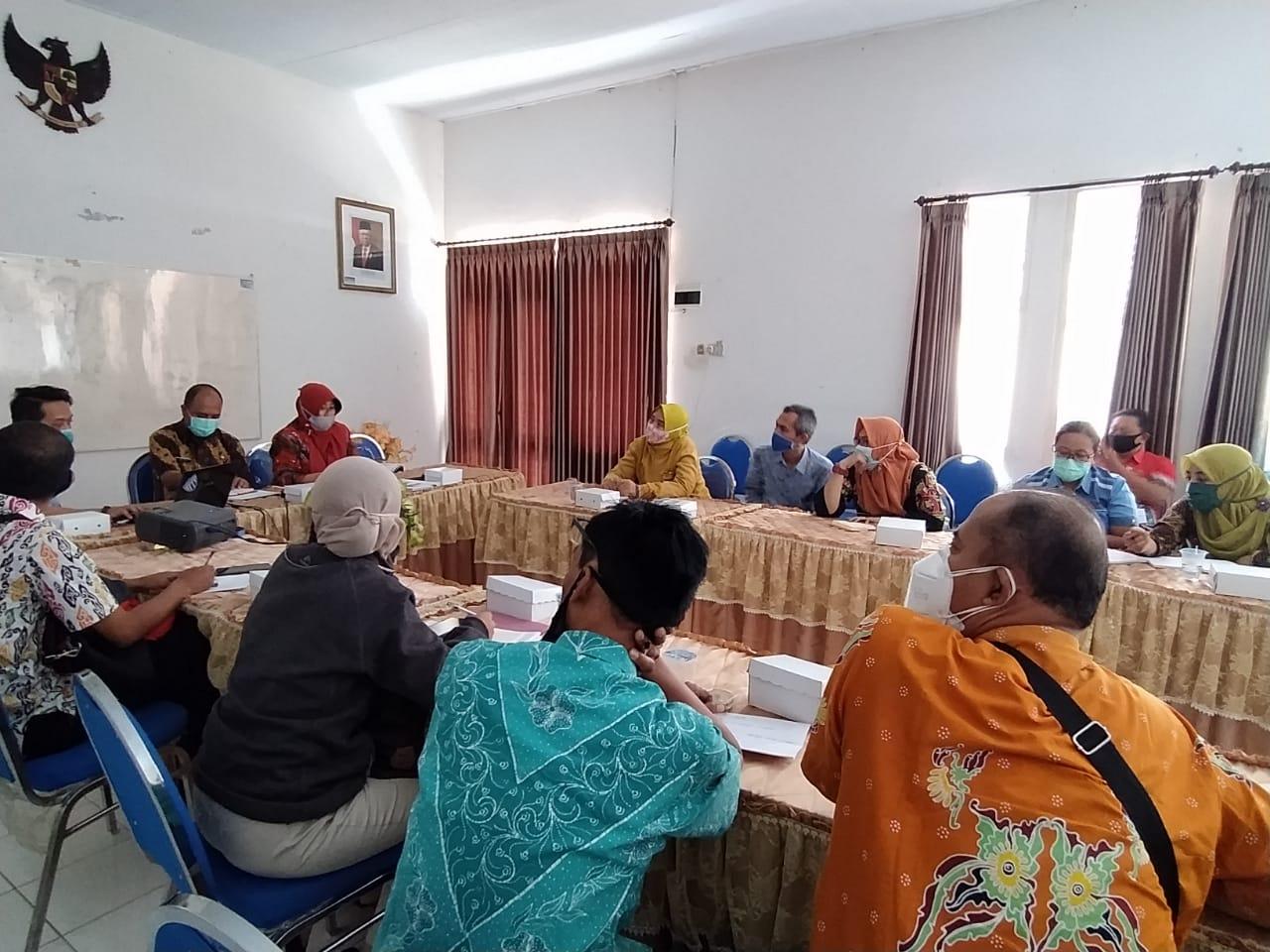 Rapat Koordinasi terkait Laporan Penyusunan Pertanggungjawaban APBDesa