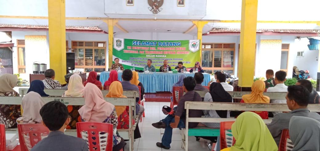 Kunjungan Tim Kementrian Desa, Pembangunan Daerah Tertinggal, dan Transmigrasi RI