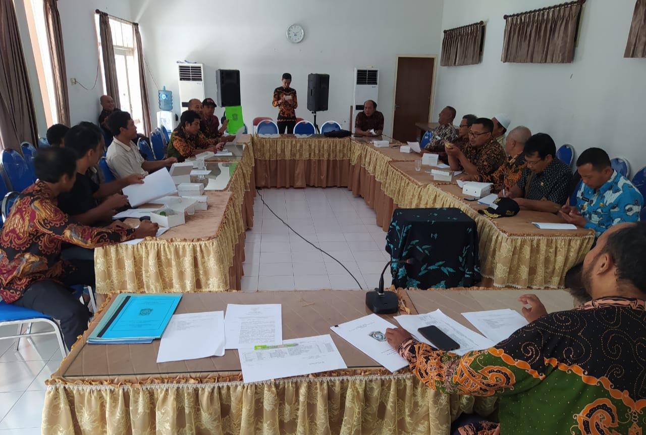 Rapat Koordinasi BKK Pelatihan Pemberdayaan Masyarakat, Sarana Prasarana Desa dan Penguatan BUMDesa Tahun Anggaran 2020